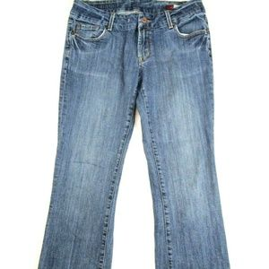 Seven7 Women's Jeans Bootcut Size 31 Medium Wash